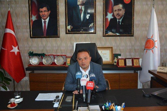 AK Parti İl Başkanı Karatay, Paralel Yapı Operasyonlarını Değerlendirdi