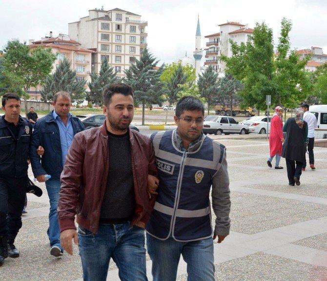 Aksaray'da Fetö/pdy Mal Kaçırma Şüphelileri Adliyede