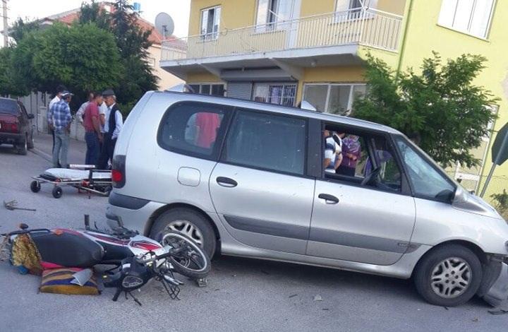 Ortaköy'de kaza: 1 Yaralı