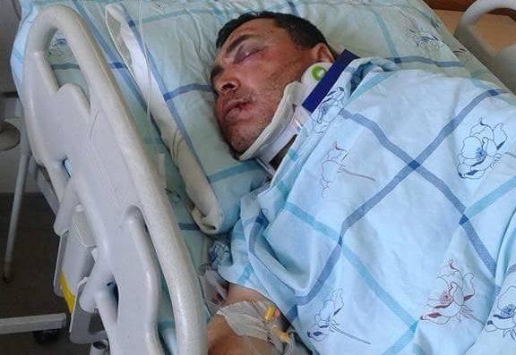 Eskil'de balya dolu remorktan düşen çiftçi ağır yaralandı