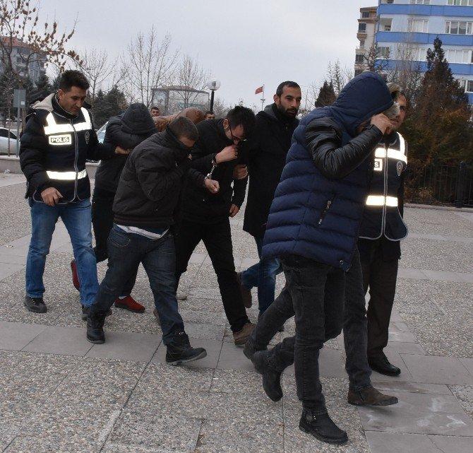 Aksaray'da Hırsızlık Şebekesi Tutuklandı