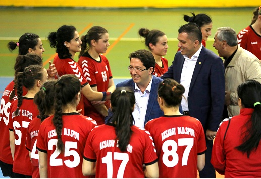Aksaray Belediyespor, Osmangazi Belediyespor'u 36-23 mağlup etti