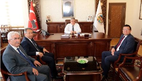 Uçmazbaş'tan Vali Aykut Pekmez'e ziyaret
