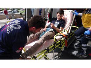 Aksaray'da Bıçakla Yaralama