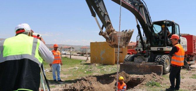 Aksaray Belediyesinden Kanalizasyon Atağı