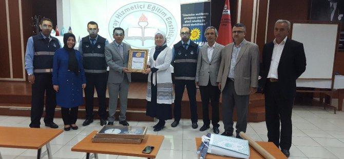 22. Günebakan Sertifikası Hizmetiçi Eğitim Enstitüsüne Verildi