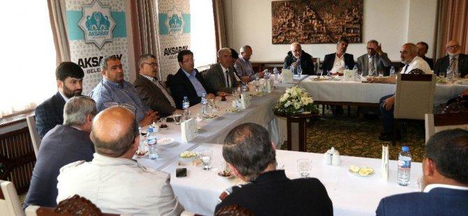 Başkan Yazgı Muhtarlarla İstişare Toplantısı Düzenledi