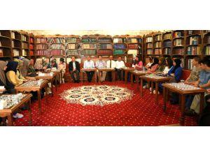Eski Bakan Güçlü, Milletvekili Aydoğdu Ve Başkan Yazgı Okuma Grubu Öğrencileriyle Buluştu