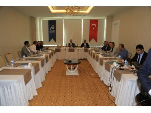 Ahika Yönetim Kurulu Toplantısı Aksaray'da Yapıldı
