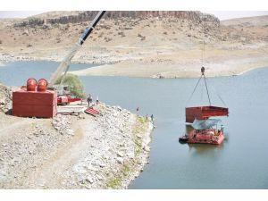 Aksaray'da 110 Milyonluk İçme Suyu Projesinin Baraj Etabı Tamamlandı