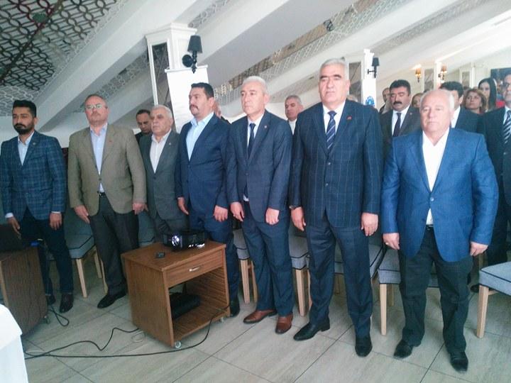 Türk Sağlık Sen Aksaray  Kongresini Yaptı
