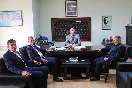 Altınsoy'dan Defterdarlık Ve Vergi Dairesi Müdürlüğüne Ziyaret