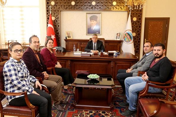 CHP Merkez İlçe Başkanlığından Vali Pekmez'e ziyaret