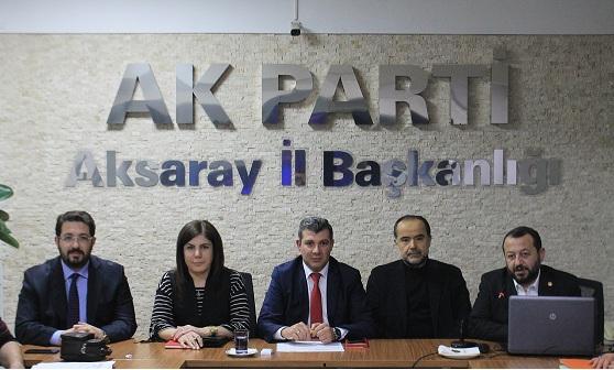 O isimler AK Parti il yönetim kurulu toplantısına katıldılar