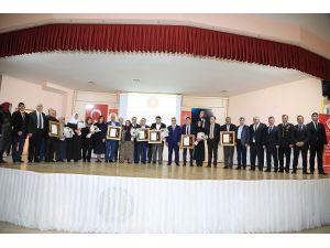Aksaray'da Devlet Övünç Madalyası ve Beratı Verildi