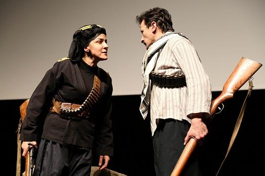 Milli Mücadelenin Kadın Kahramanı Kara Fatma'nın Hikâyesi Aksaray'da Sahnelendi