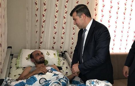 AK Heyetten Afrin Gazisi'ne Ziyaret