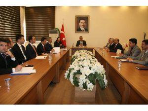 Aksaray'a seçim güvenliği toplantısı yapıldı