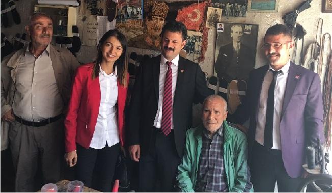 CHP Aksaray milletvekili adaylarıSarıyahşi'ye çıkarma yaptı!