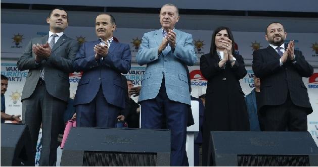 """Altınsoy, """"Aksaray Cumhurbaşkanımızı Coşkuyla Karşıladı"""""""