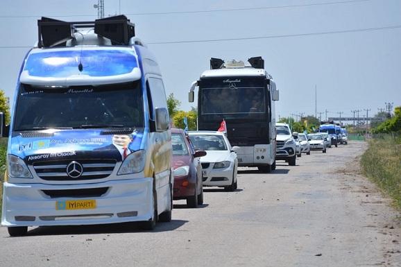 İYİ Partili adayların belde-ilçe ziyaretleri sürüyor