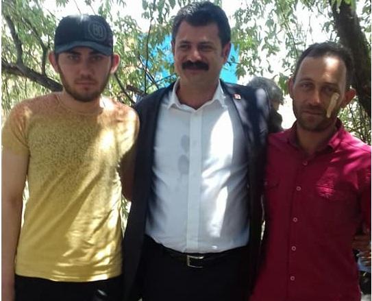 CHP Aksaray Milletvekili Adayı Ali Abbas Ertürk Eskil'de vatandaşlarla buluştu