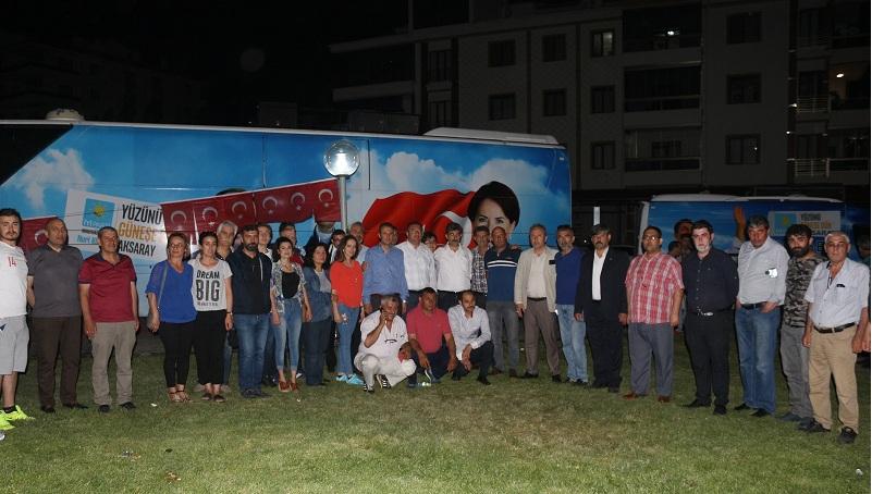 İYİ Parti Teşkilatları Millet İttifakı İftarına Katıldı