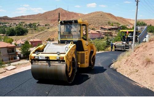 Aksaray Belediyesi Alt Yapı ve Yol Yenileme Çalışmalarına Aralıksız Devam Ediyor