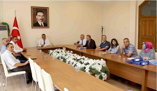Aksaray'da Toprak Koruma Kurulu Toplantısı