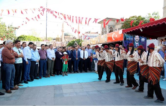 Türkiye'nin El Sanatları Aksaray'da Görücüye Çıktı