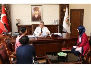 Vali Pekmez, Halk Günü toplantısını gerçekleştirdi