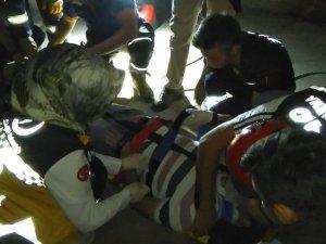 5 metrelik kuyuya düşen yerli turist, AFAD ve itfaiye ekiplerince kurtarıldı