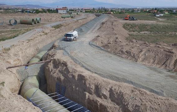 Kapalı Sistem Sulama Projesi Çalışmaları Aralıksız Devam Ediyor