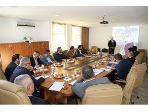 Aksaray'da OSB Müteşebbis Heyet Toplantısı yapıldı