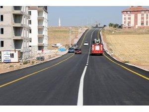 Aksaray Belediyesi asfaltta rekor kırdı