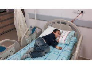 Aksaray'da karbonmonoksit gazından zehirlenen aile tedavi altına alındı