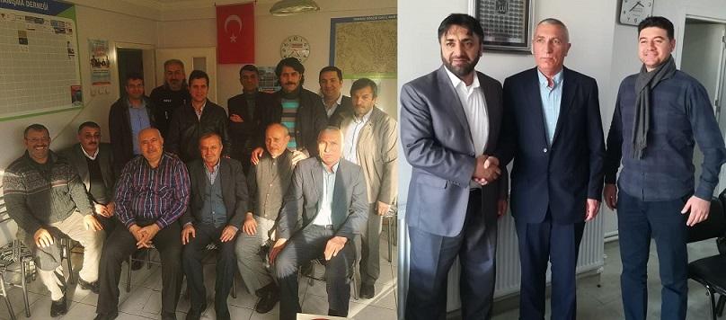 """Muhtar Adayı İsmail Meral, """"Konya'daki Eskil derneklerimizin faaliyetleri son derece önemli"""""""