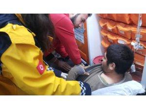 Kaybolan engelli genç AFAD ve vatandaşlar tarafından bulundu