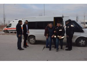 FETÖ/PDY'nin 10 zanlısı Aksaray'a getirildi