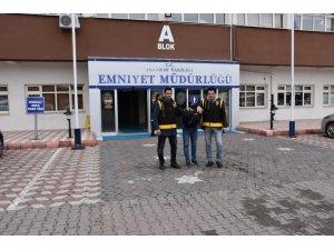 Malatya'dan Aksaray'a gelerek 7 hırsızlık olayına karışan zanlı tutuklandı