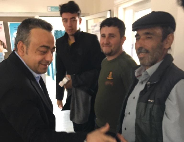 BBP Adayı Süleyman Altan'dan Eskil Devlet Hastanesi'ne ziyaret