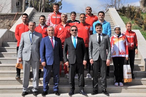 Aksaray'da Sporda Başarıya Ödül!