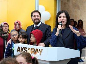 Aksaray Belediyesi Çocuk Kulübü ve Oyun Evi Hizmete Açıldı