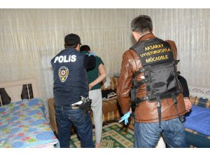 Aksaray'da 1 ayda 31 uyuşturucu operasyonunda 20 kişi tutuklandı