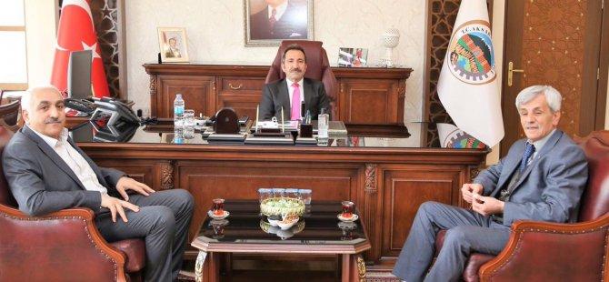Sarraflar Odası Başkanı Akbaş'dan ziyaret