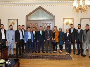 TÜMSİAD'tan Vali Ali Mantı'ya Ziyaret