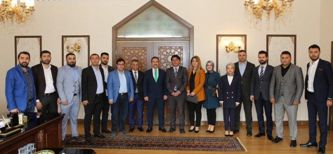 Genç Girişimcilerden Vali Ali Mantı'ya ziyaret