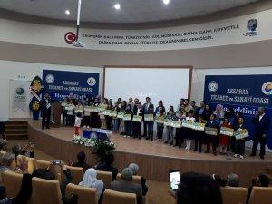 7. 'Ufka Yolculuk' kazananları ödüllerini aldı