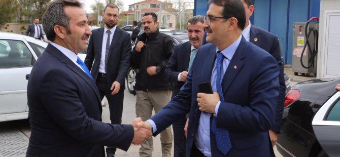 Enerji ve Tabi Kaynaklar Bakanı Fatih Dönmez Aksaray'da