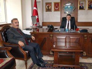 Güzelyurt Belediye Başkanı Ünal Demircioğlu, Başkan Dinçer'i ziyaret etti